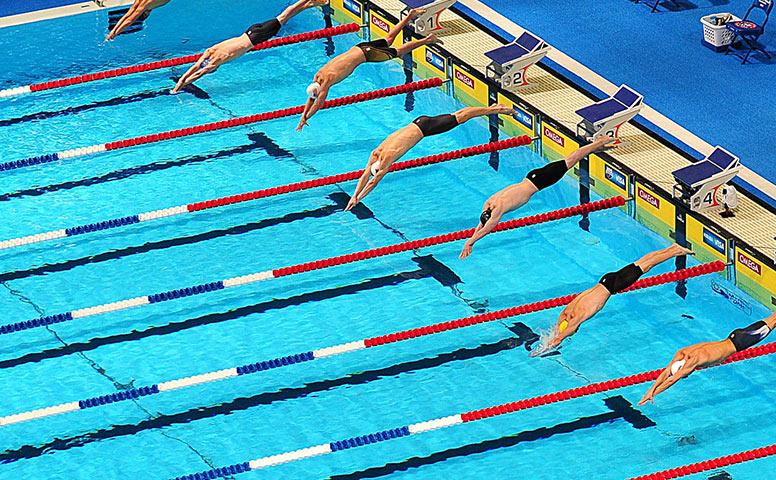 Városi úszóversenyek